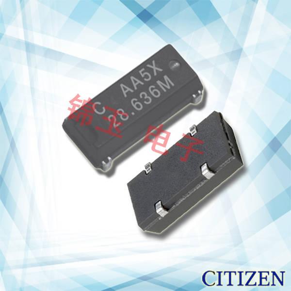西铁城晶振,贴片晶振,CM309A晶振,CM309A8.000156MABJT晶振