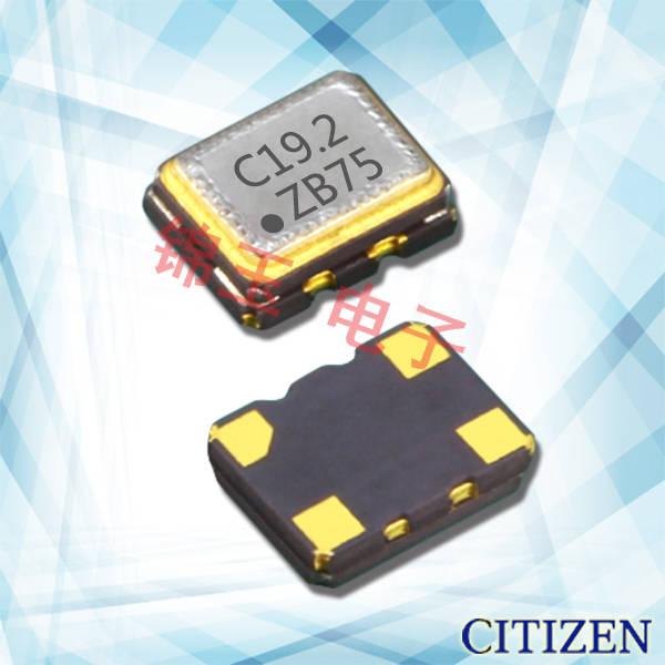 西铁城晶振,石英晶体谐振器,CSX-252F晶振