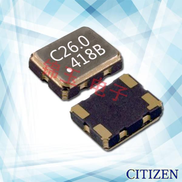 西铁城晶振,石英晶振,CSX-325T晶振