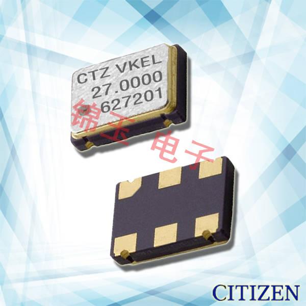 西铁城晶振,贴片晶振,CSX-750V晶振