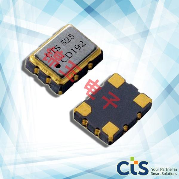 CTS晶振,贴片晶振,525晶振