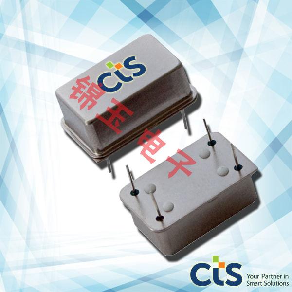 CTS晶振,石英晶振,H1254晶振