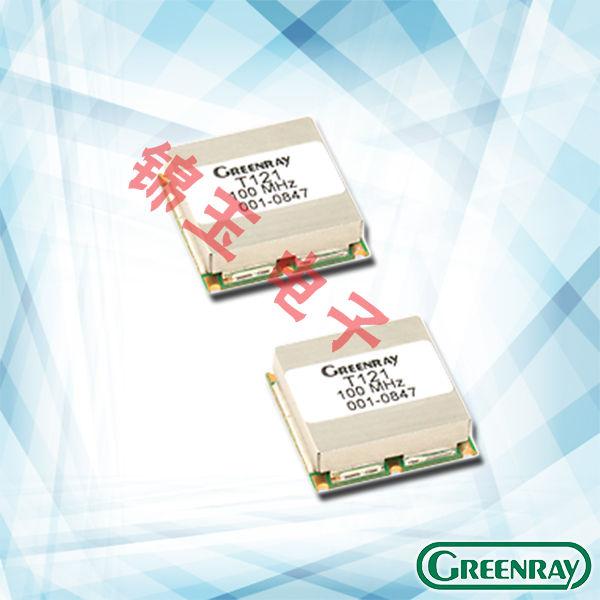 Greenray晶振,贴片晶振,T121晶振