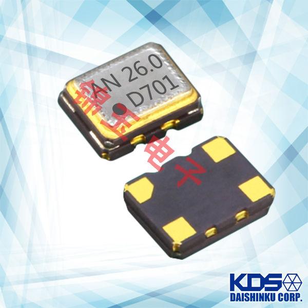 KDS晶振,贴片晶振, DSA221SDM晶振