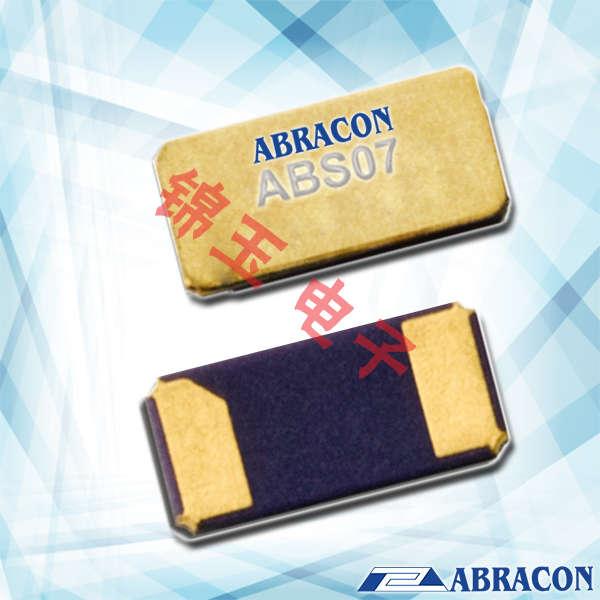 Abracon晶振,贴片晶振,ABS07晶振