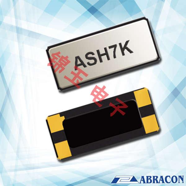 Abracon晶振,贴片晶振,ASH7K晶振,ASH7K-32.768KHZ-T晶振