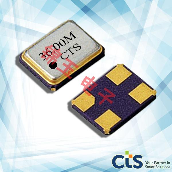 CTS晶振,石英晶振,416晶振