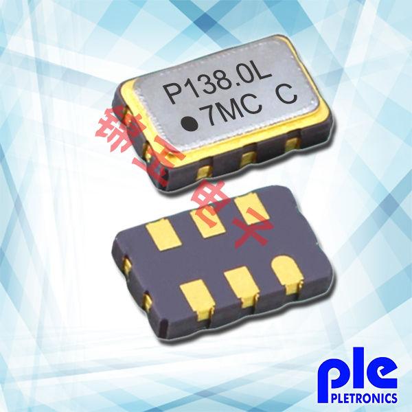 Pletronics晶振,贴片晶振,PE55D晶振