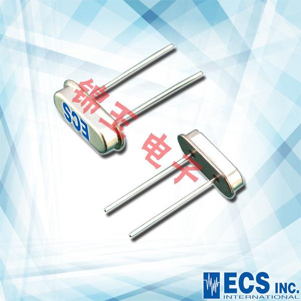 ECS晶振,石英晶振,HC-49UX晶振