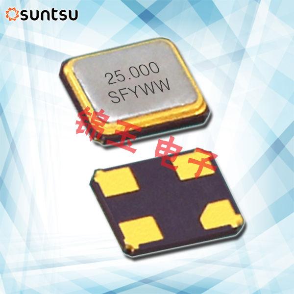Suntsu晶振,贴片晶振,SXT224晶振,石英贴片晶振