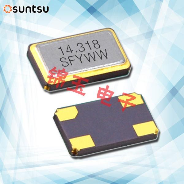 Suntsu晶振,贴片晶振,SXT634晶振,石英谐振器