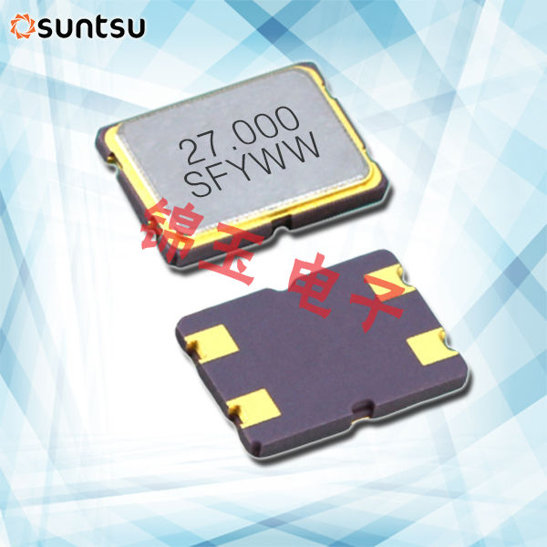 Suntsu晶振,贴片晶振,SXT754晶振,无源谐振器