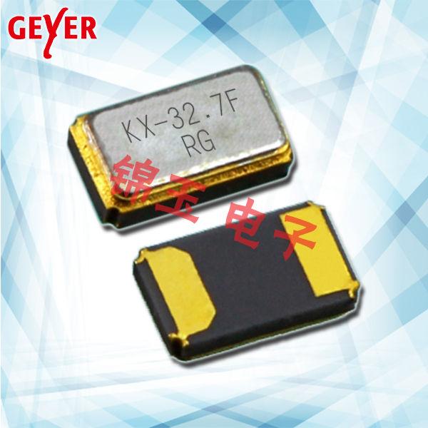 GEYER晶振,贴片晶振,KX-327FT晶振,32.768K晶振