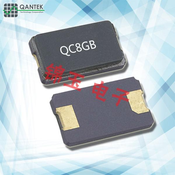 QANTEK晶振,贴片晶振,QC8GB晶振,石英晶体谐振器