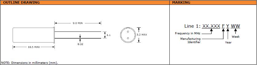 Suntsu晶振,石英晶振,SCM132晶振,电脑周边用晶振
