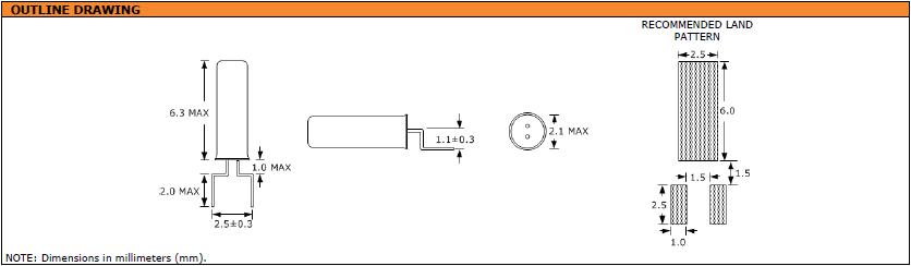 Suntsu晶振,石英晶振,SWG622晶振,32.768K表晶