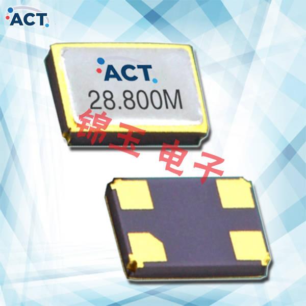 ACT晶振,贴片晶振,2016H SMX‐4晶振,射频时钟晶体