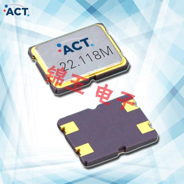 ACT晶振,贴片晶振,753 SMX‐4晶振,宽频晶体谐振器